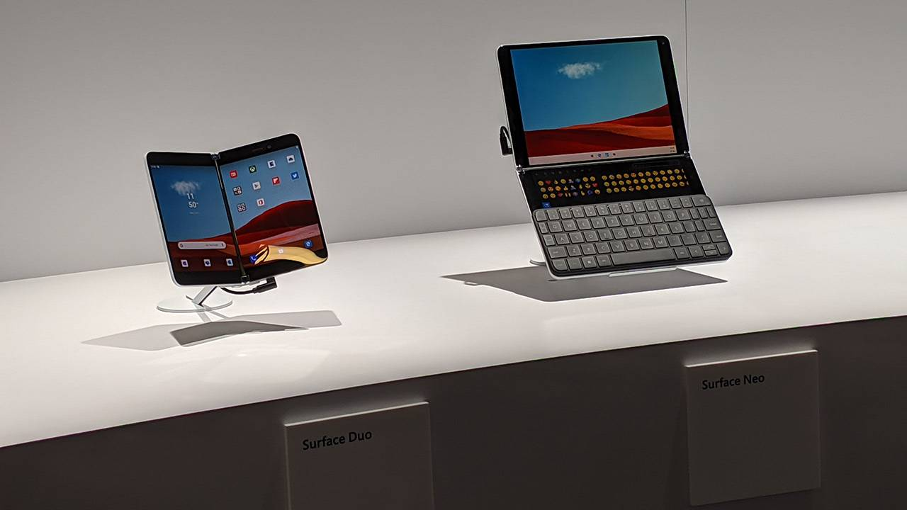 Microsoft Surface Duo and Surface Neo