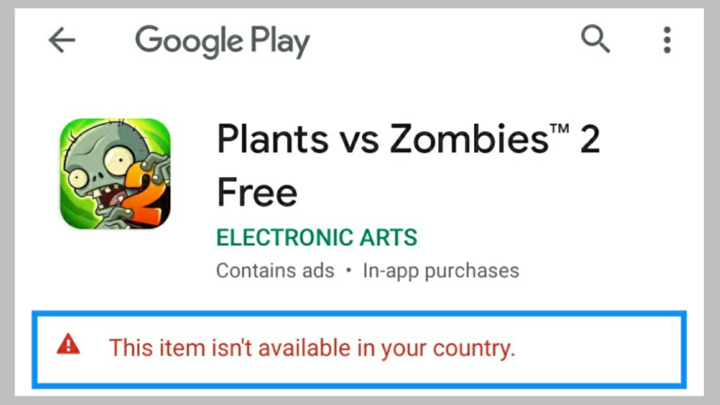Google Play Store မှာ This item is not available in your country ပြသနာကို ဖြေရှင်းကြမယ်